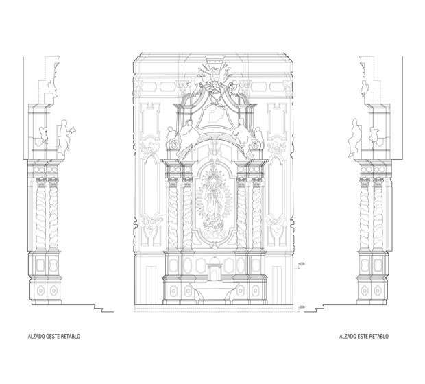 capilla inmaculada catedral mallorca